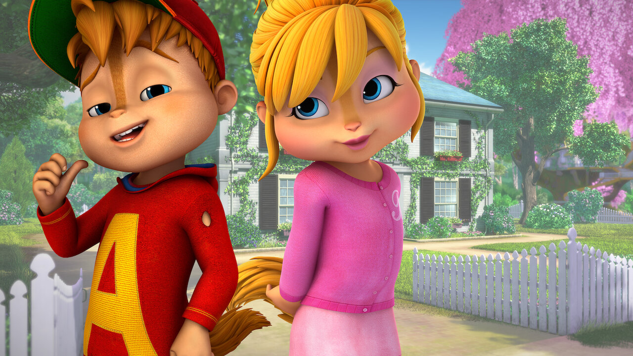 Alvin And The Chipmunks Alvin And Brittany alvinnn!!! and the chipmunks | netflix
